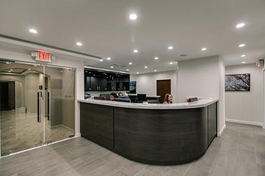 Vein Clinic Front Desk Midtown NYC