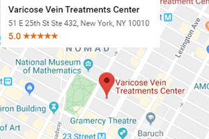 Varicose Vein Clinic Map - Directions